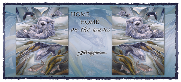 Home, Home One The Waves - Mug