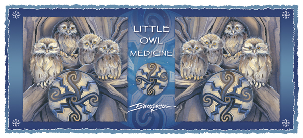 Owls / Little Owl Medicine - Mug