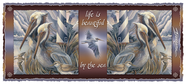 Pelicans / Life Is Beautiful... - Mug