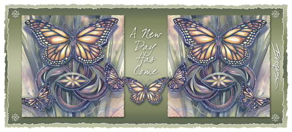 Butterflies / A New Day Has Come - Mug