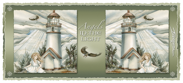 Angels In The Light - Mug