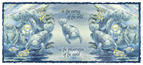 In The Caring Of The Wild... - Mug