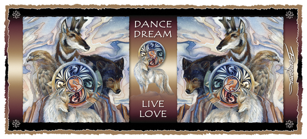 Dance In A Circle Of Life - Mug