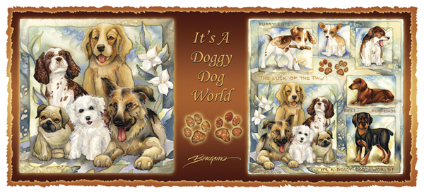 Dogs / It's A Doggy Dog World - Mug