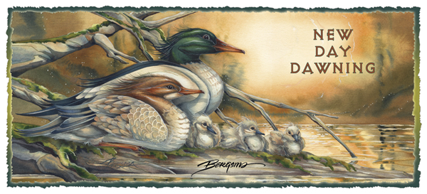 Ducks / A New Day Dawning - Mug