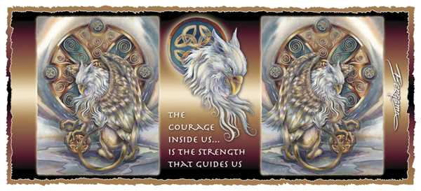 The Courage Inside Us... - Mug