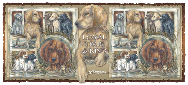 Dogs / Loyal, True & Kind - Mug