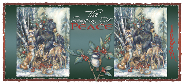 Celebrate The Season Of Peace - Mug