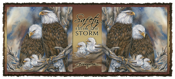 Safety From The Storm - Mug