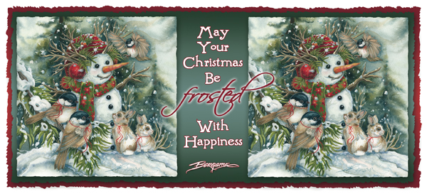 May Your Christmas Be Frosted With Happiness - Mug