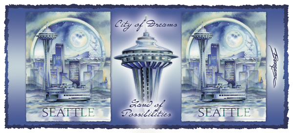 Seattle... City Of Dreams - Mug