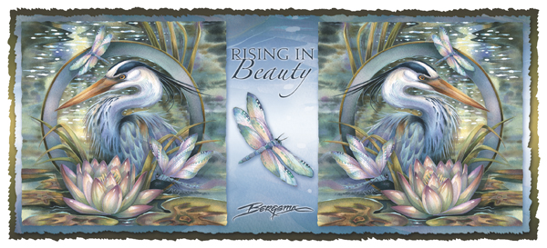 Herons / Rising In Beauty - Mug