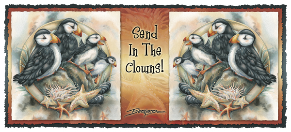 Puffins / Send In The Clowns - Mug