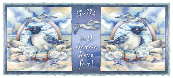 Gulls Just Wanna Have Fun - Mug