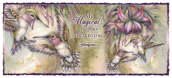 'My Magical Place Is Next To You' Mug