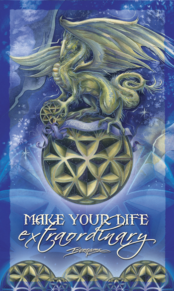 Mythological Creatures (Dragons) / Make Your Life Extraordinary - Mailable Mini