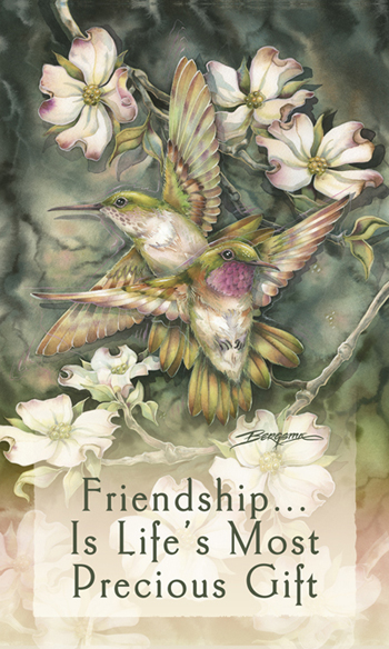 Hummingbirds / Friendship... - Mailable Mini