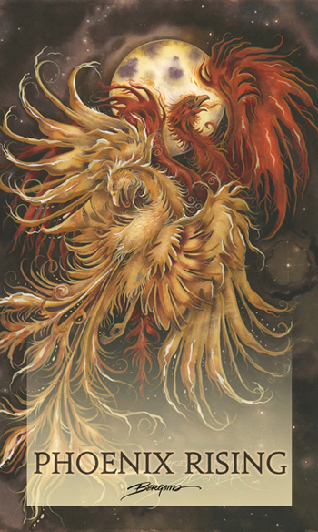 Mythological Creatures (Phoenix) / Phoenix Rising - Mailable Mini