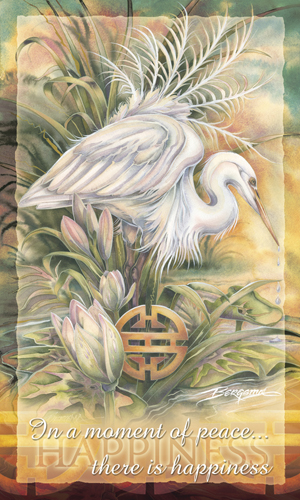 Herons / In A Moment Of Peace... - Mailable Mini