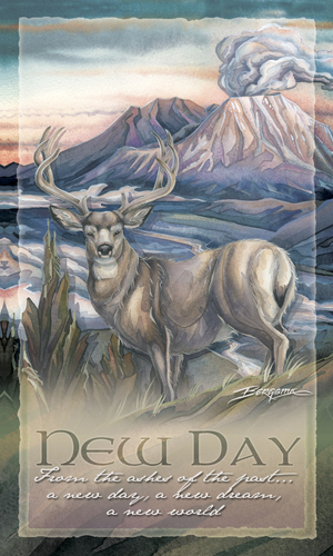 Deer / From The Ashes Of The Past... A New Day - Mailable Mini