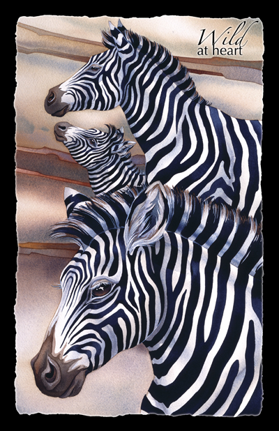 Zoo Misc. / Wild At Heart - 11 x 17 in Poster
