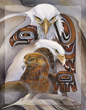 Eagles (Multiple) / Eagle Spirit - 11 x 14 in Poster