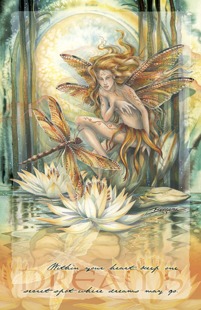 Faeries / Wild Magic - 11 x 14 inch Poster