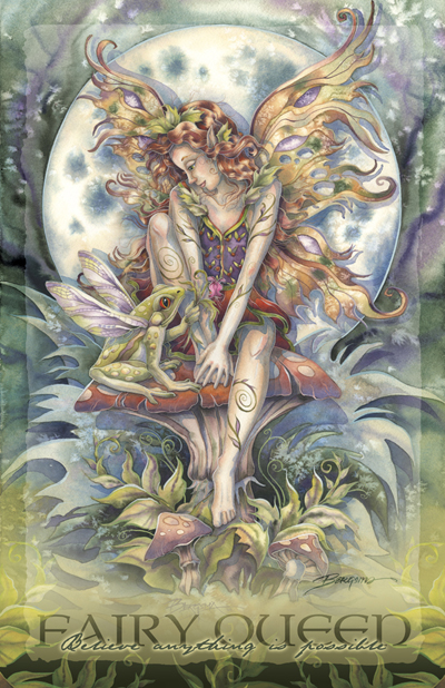 Faeries / Magic Happens - 11 x 14 inch Poster