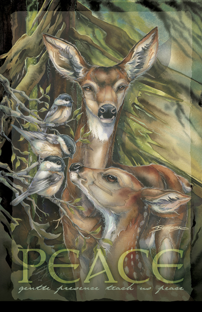 Deer / You Are So Deer To Me - 11 x17 inch Poster