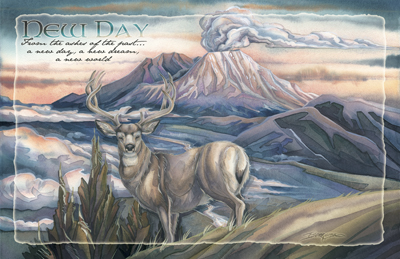 Elk / From the Ashes of the Past... A New Day