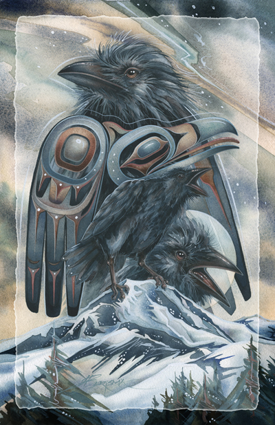 Ravens / Spirit of the Mountain