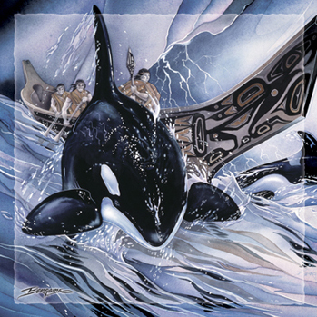 Whales (Orca) / In The Company Of Orca - Tile