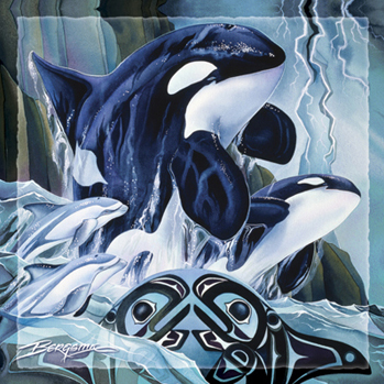 Whales (Orca) / Breath Of Power - Tile