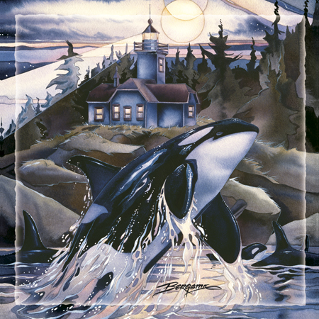 Whales (Orca) / Journey to the Light