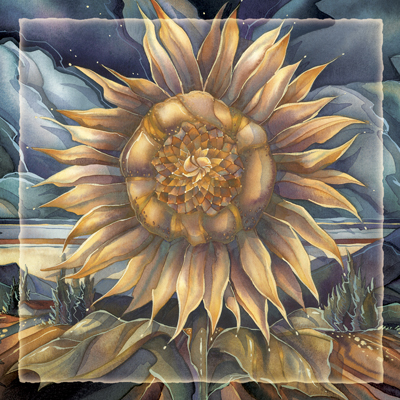 Sunflowers / Shine Like The Sun - Tile