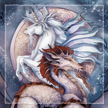 Mythological Creatures / Elemental Magic - Tile