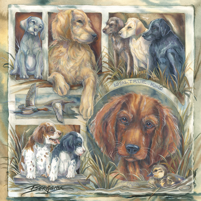 Dogs / Loyal, True & Kind - Tile