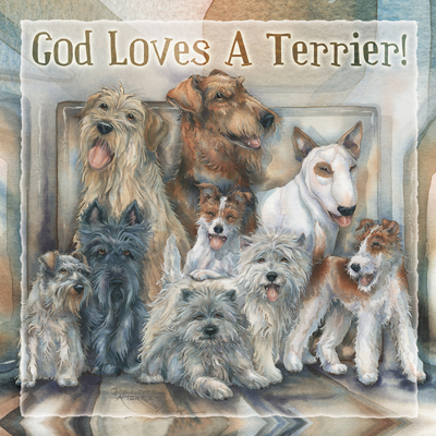 Dogs / God Loves A Terrier - Tile