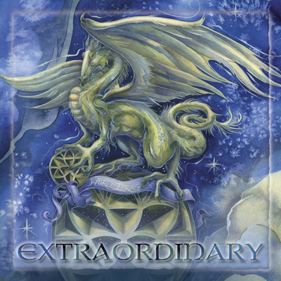 Mythological Creatures (Dragons) / Make Your Life Extraordinary - Tile