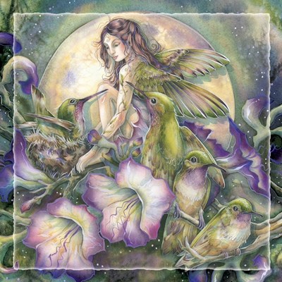 Faeries / Some Things Have To Be Believed To Be Seen - Tile
