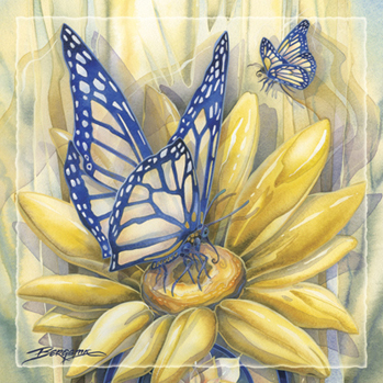 Butterfly Magic... - Tile