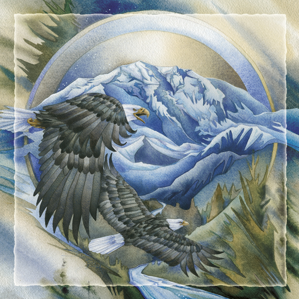 Soaring Above It All - Tile