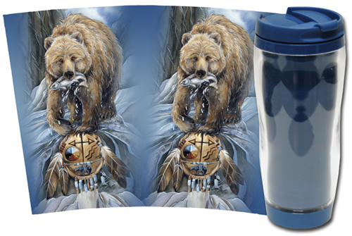 Bears (Grizzly) / Bear Clan - Travel Mug