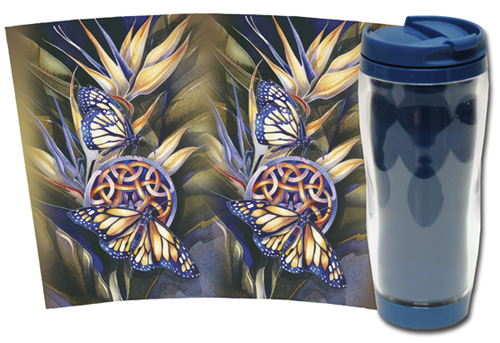 Butterflies / Wings Of Transformation - Travel Mug