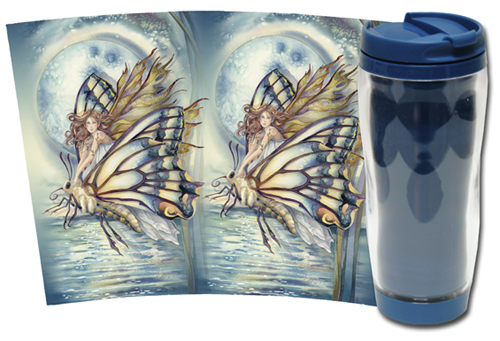 Faeries / Chrysalis... Who Knows What Magic... - Travel Mug