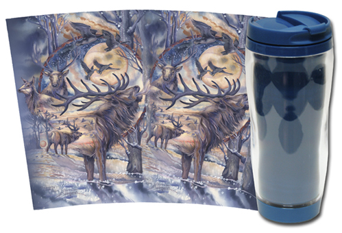 Elk / Noble Spirit - Travel Mug