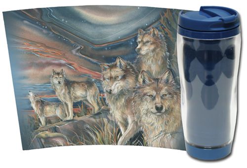 Wolves / The Pack... - Travel Mug