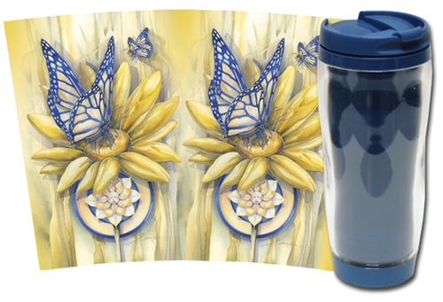 Butterflies / Butterfly Magic - Travel Mug
