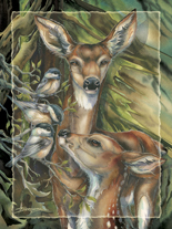 You Are So Deer To Me - Easel Back Tile