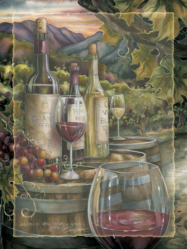 Wine Is Proof... Easel Back Tile